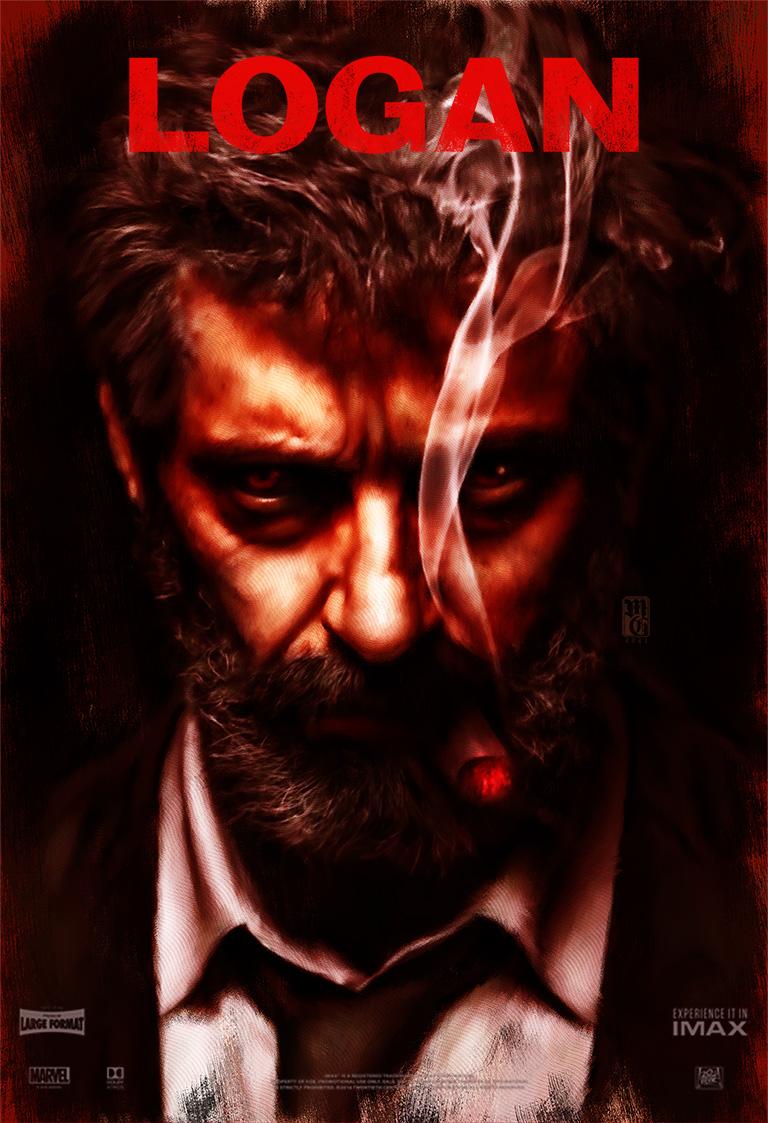 Alternative movie poster for Logan