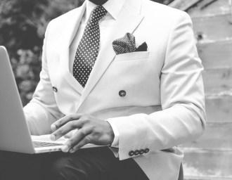 Suit Work Person Man Dapper Male Business