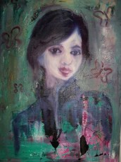 oil on canvas £250