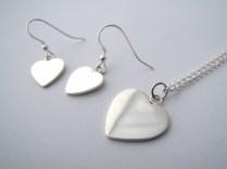 Heart Earrings -SOLD
