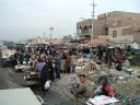 A market in Sadr City in either 2004 or 2005.