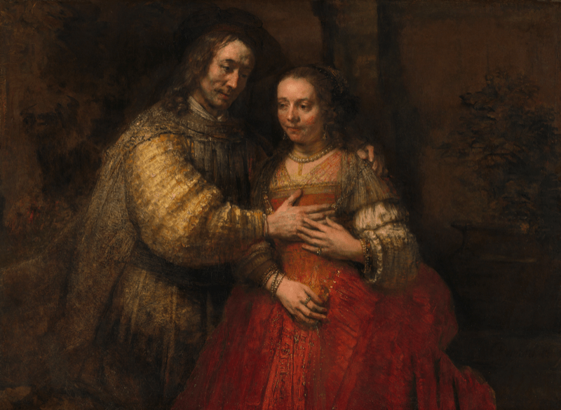 Rembrandt, Portrait of a Couple as Isaac and Rebekah