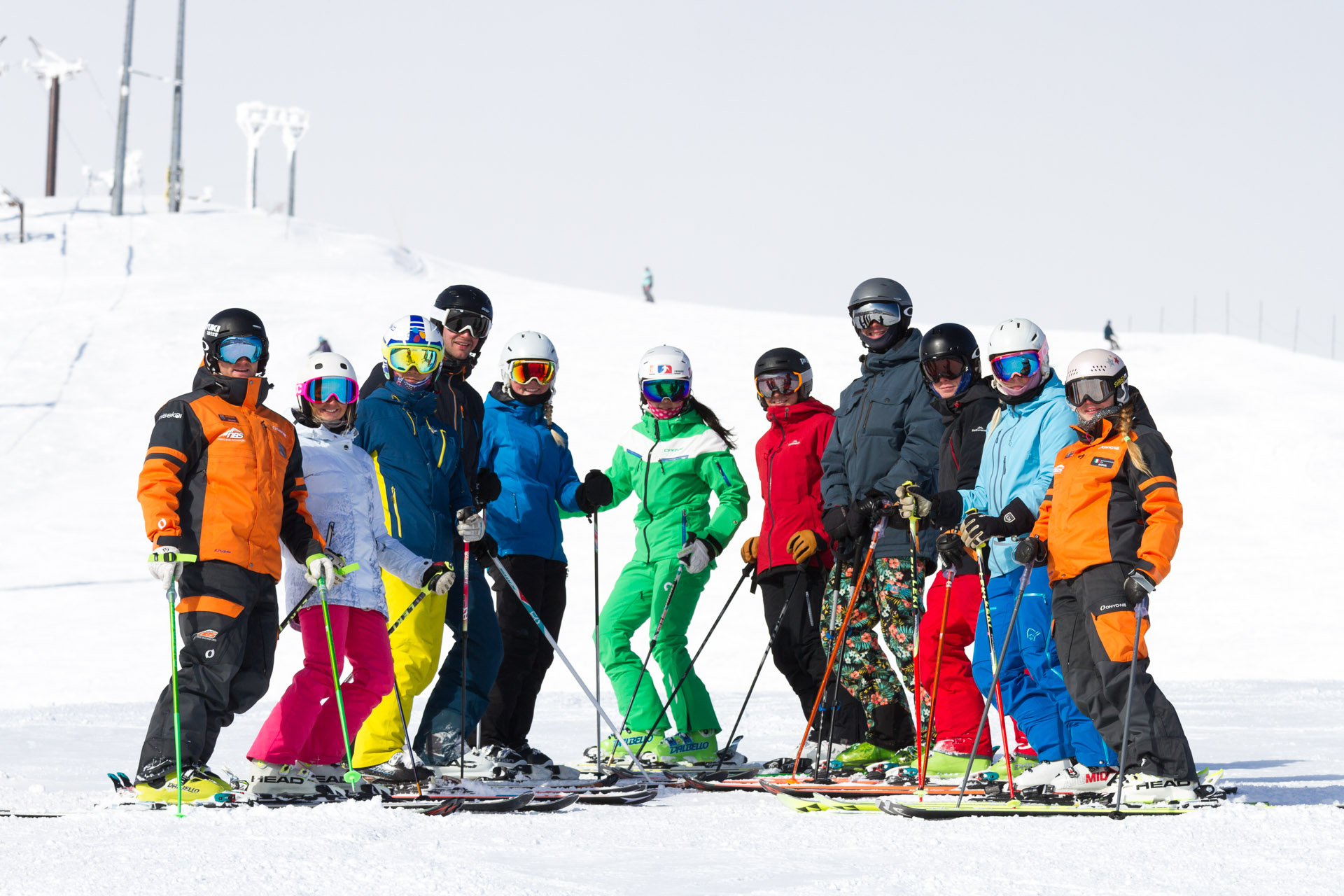 Niseko Base Snowsports group lessons