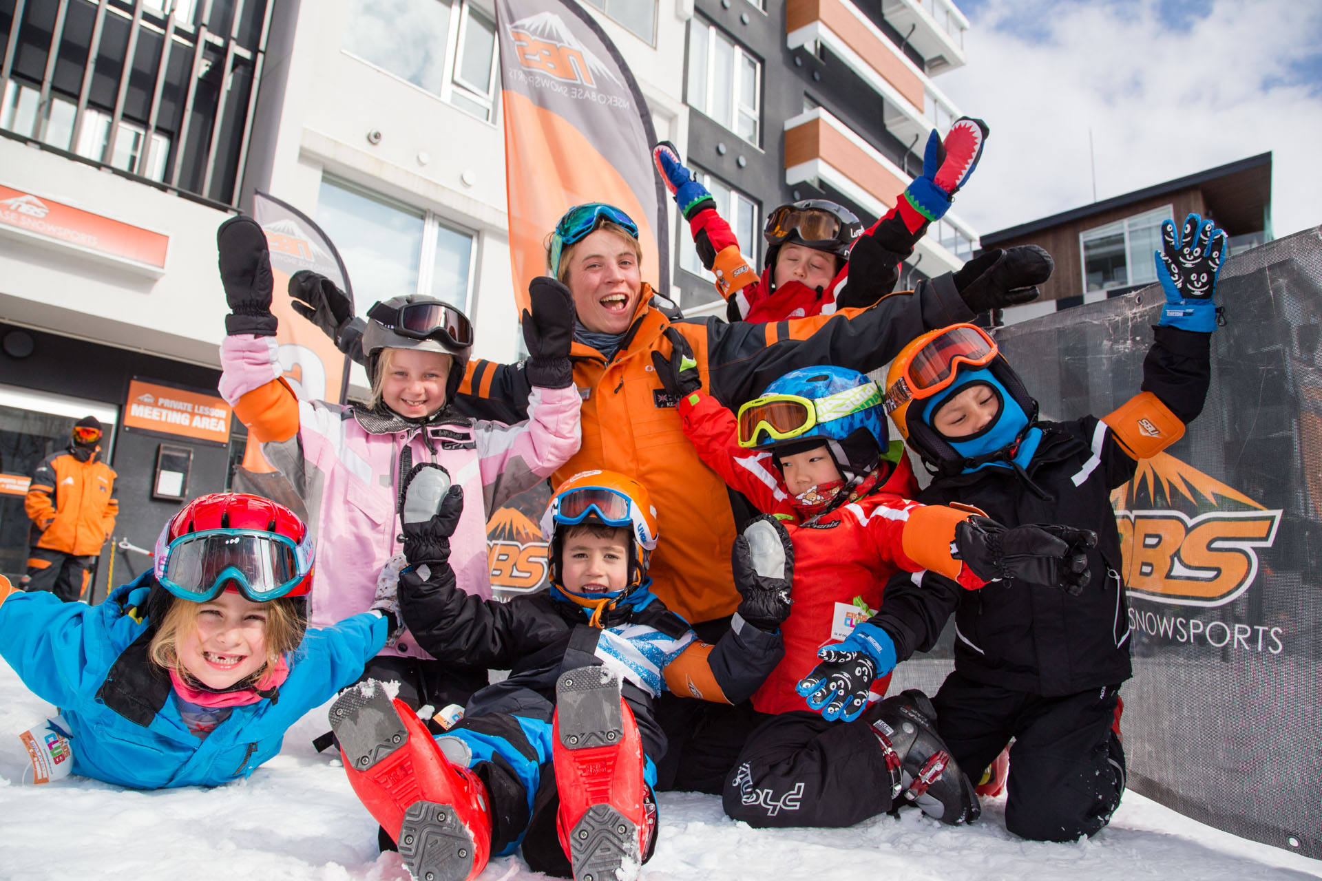 Niseko Base Snowsports kids club-3476