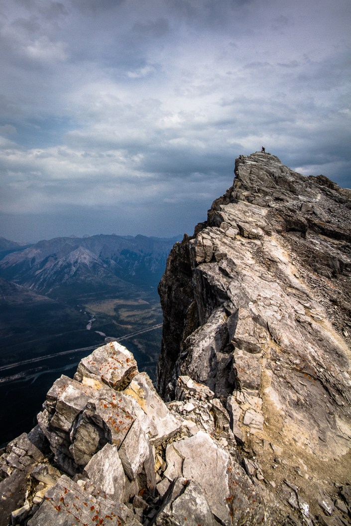 Hiking MT Rundle Peak — Canada