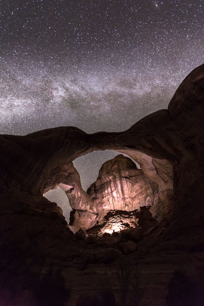 USA-Arches-Double-arch-Astrophotography