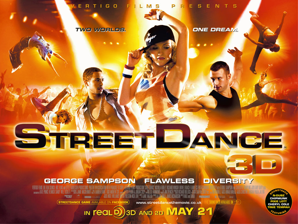 Streetdance 3D: two dimensions more than the script