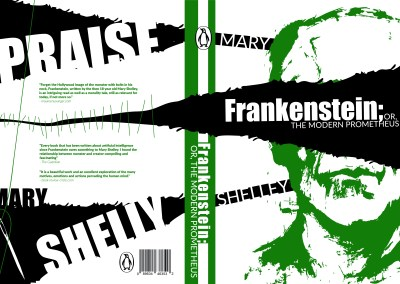 Frankenstein Book Jacket