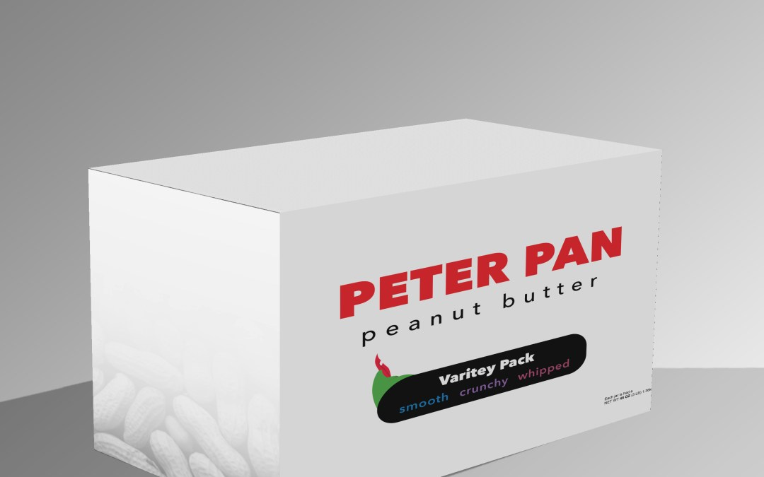 Peter Pan Peanut Butter Redesign