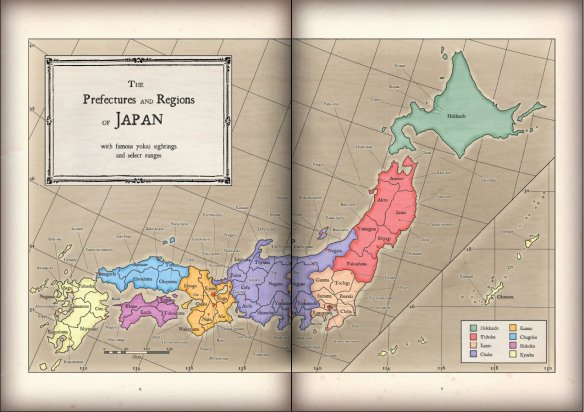 Night Parade - Map of Japan