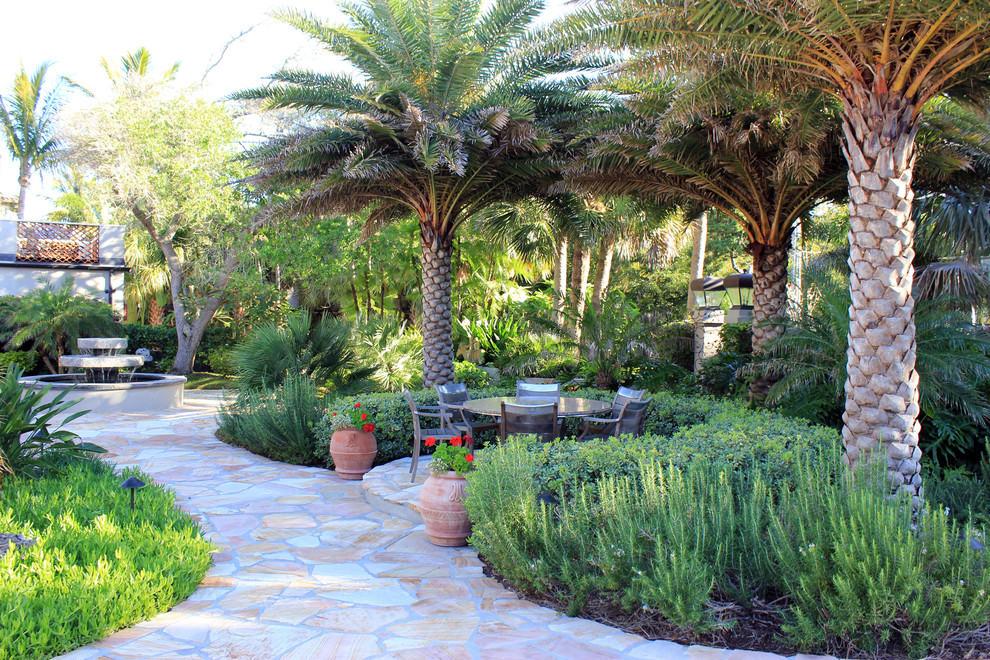 Plant Styles: Traditional vs Contemporary Plants on Palm Tree Backyard Ideas id=24839