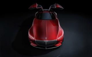 Vision Mercedes-Maybach 6: Studie eines extravaganten Coupés der Luxusklasse; 2016 ; Vision Mercedes-Maybach 6: Study of an ultra-stylish luxury-class coupé; 2016;