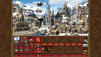 Wizard Town HD - Heroes of Might and Magic III - HD Edition