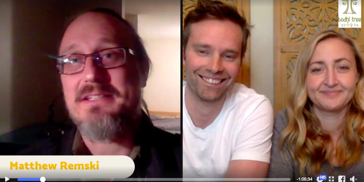 Talking about The Walrus Article on Jois with Colin Hall and Sarah Garden on Bodhi Talks Live