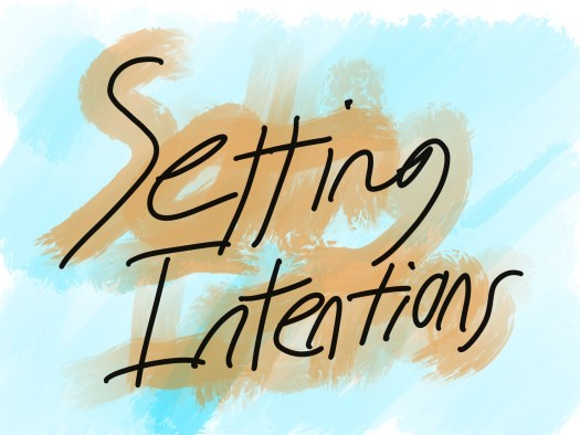 Setting Intentions Title