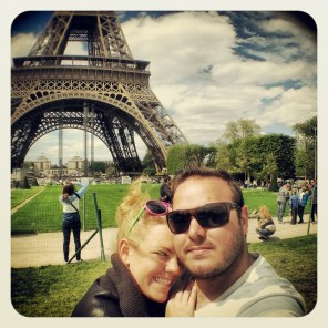 Obligatory Eiffel Tour selfie.