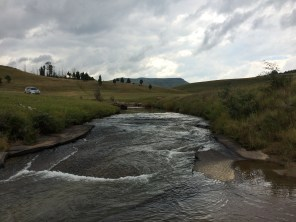 This little river feeds into the mighty Umzimvubu. Makes sense, given that Teddington is closer to the former Transkei than the nearest town (Underberg).