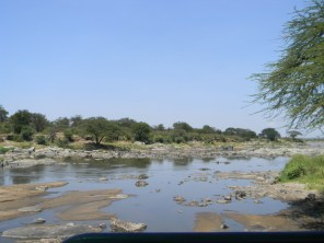 The mighty Mara River, made famous by the Discovery Channel footage during the migration.