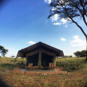 "Of all the places we stayed, this was my favourite. ""Roughing it"" at Namiri Plains. It was perfect."