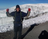 King of the castle - summit of Kili