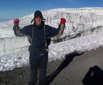 King of the castle - summit of Kili