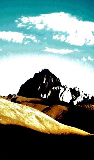 ALTERNATE DIMENSION  Otherworldly alpine scape on the trail   Ladakh