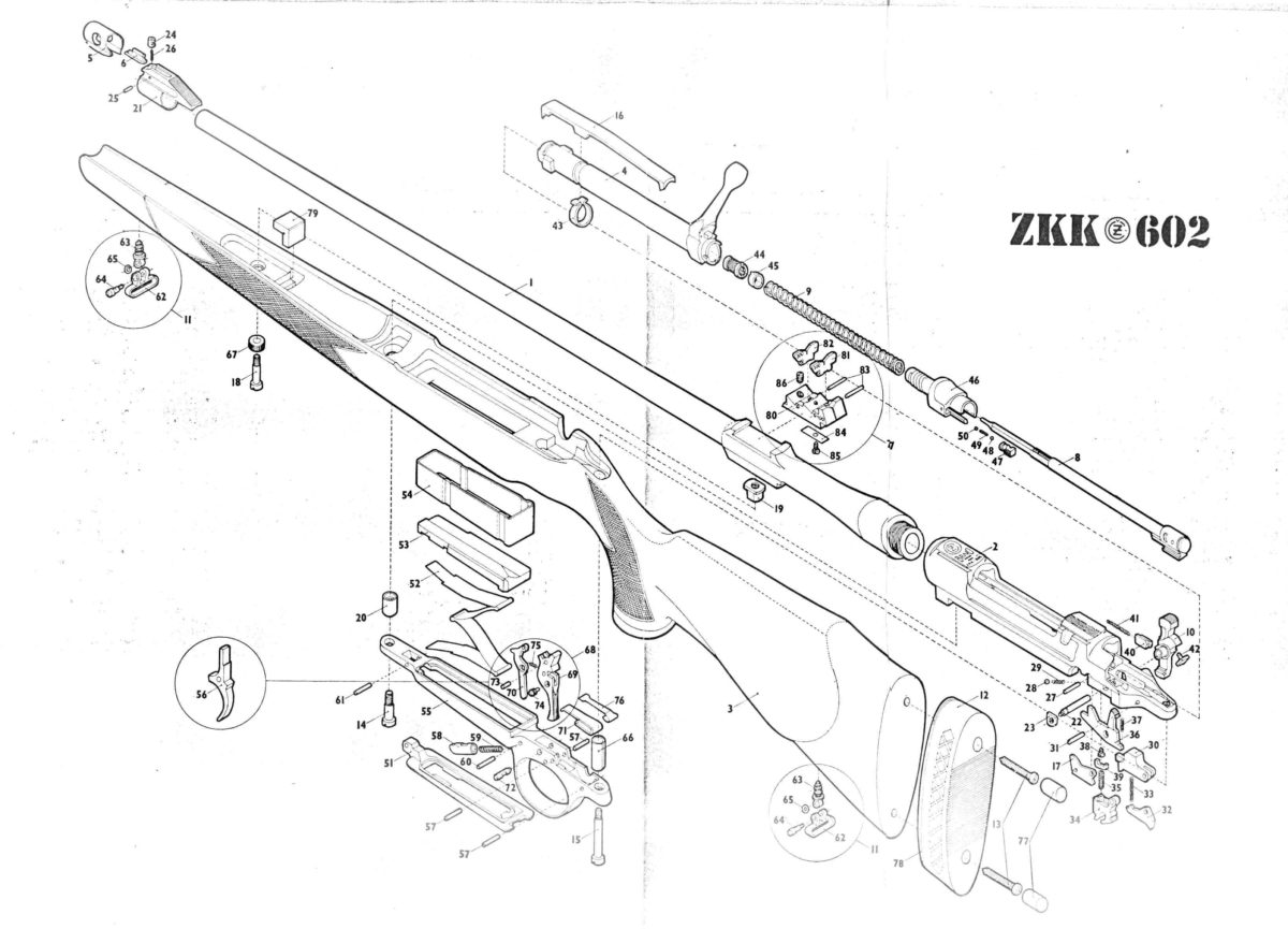 8mm Mauser Bolt Action Rifle | Wiring Diagram Database