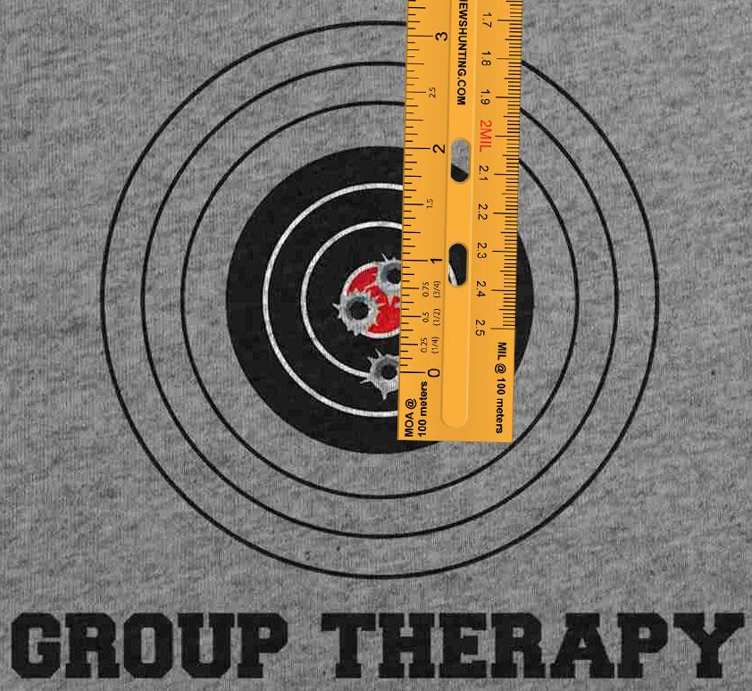 image regarding Printable 25 Yard Zero Target identify Absolutely free printable MOA/MIL ruler in just PDF layout. - Matthews