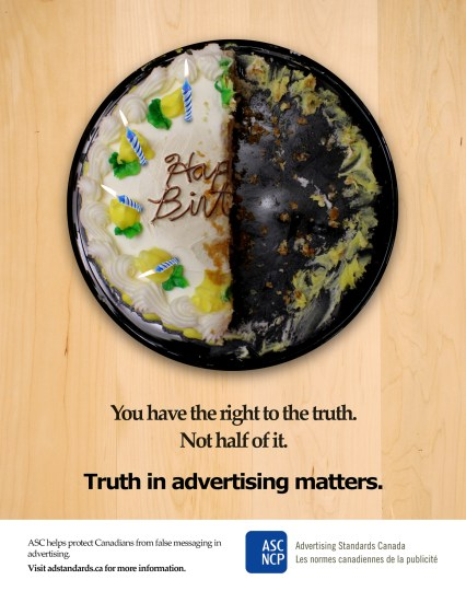 """Advertising Standards Canada Competition - """"Just One Piece"""" Campaign"""