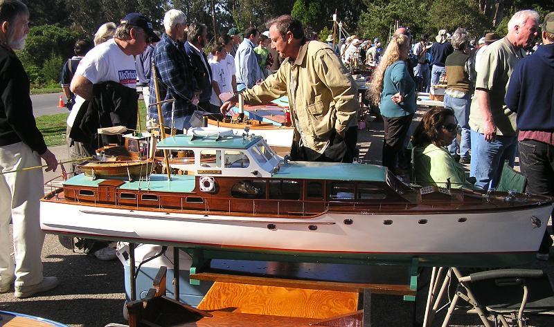 San Francisco Model Yacht Club 2006 Year End Boat Float