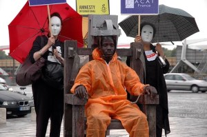 Electric Chair Protest