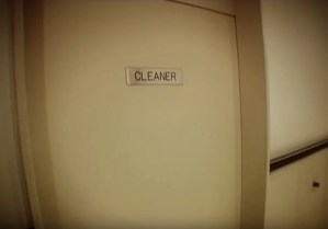 Cleaners' cupboard in the Centrecourt building