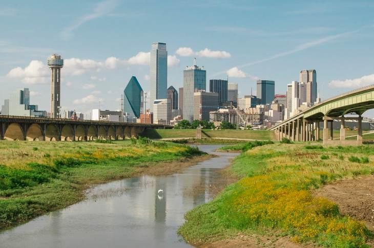 Dallas Skyline in 2010