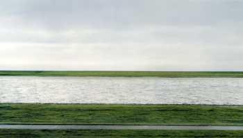 Rhein II (1999) by Andreas Gursky