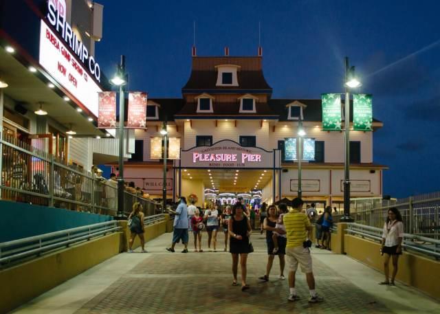 Entrance to the Historic Pleasure Pier