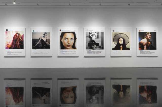 Richard Prince art exhibit, Image Courtesy Gagosian Gallery. Photograph by Robert McKeever.