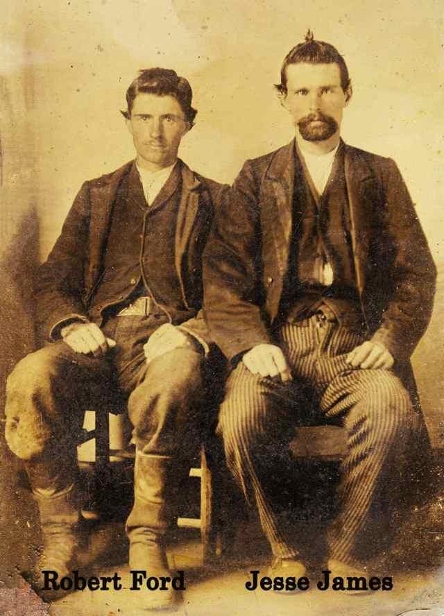 Jesse James & Robert Ford Restoration by Matthew T Rader