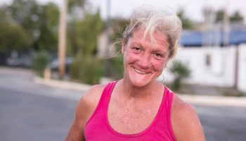 Deborah - Portrait of a homeless woman in Dallas by Matthew T Rader