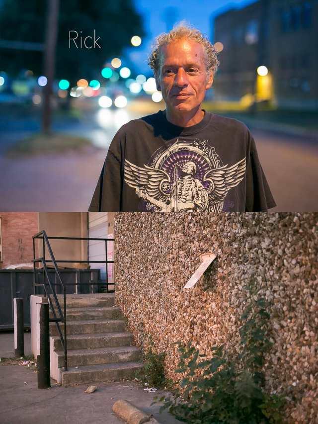 Dallas Homeless People: Rick