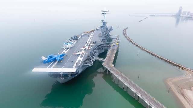 Corpus Christi, Padre Island, and the USS Lexington Photos And Video