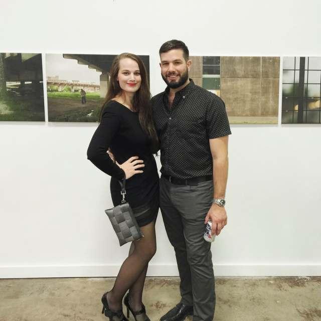 Matthew T Rader with Rachael Rader at Random Art Gallery: RA IV