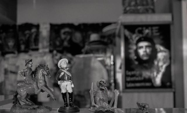Matthew T Rader - Figurines Looking Off Into … (2014)