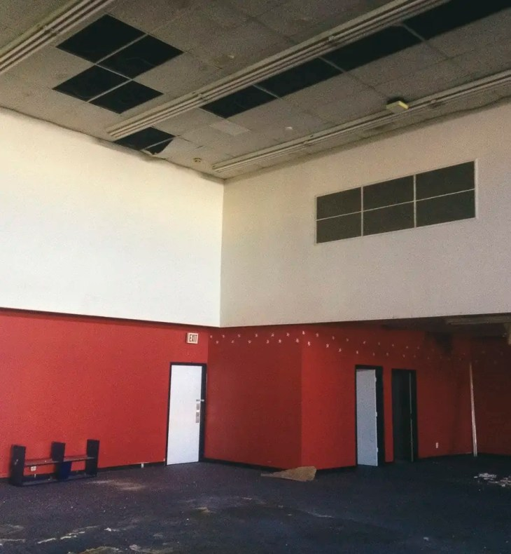 Abandoned Dance Studio off of Shoreview Road in Dallas, Texas