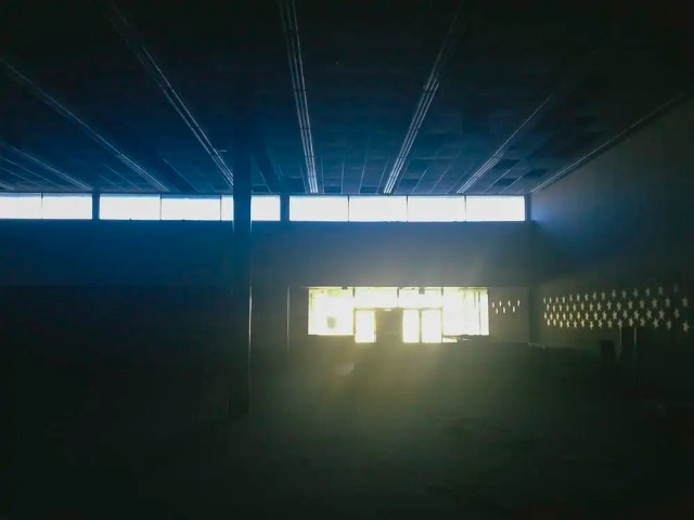 Abandoned Dance Studio in Lake Highlands, Dallas, Urban Exploration, is empty and dusty and slowly falling apart