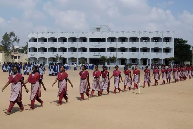 All Girls School in Salem, India