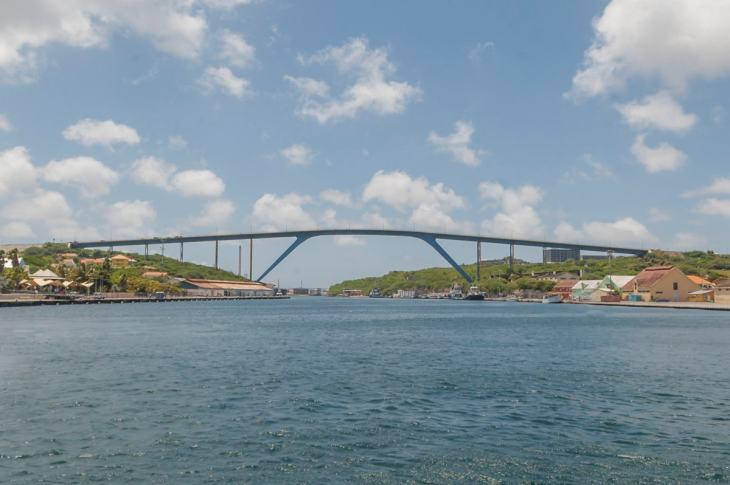 Bridge in Willemstad, Curaçao