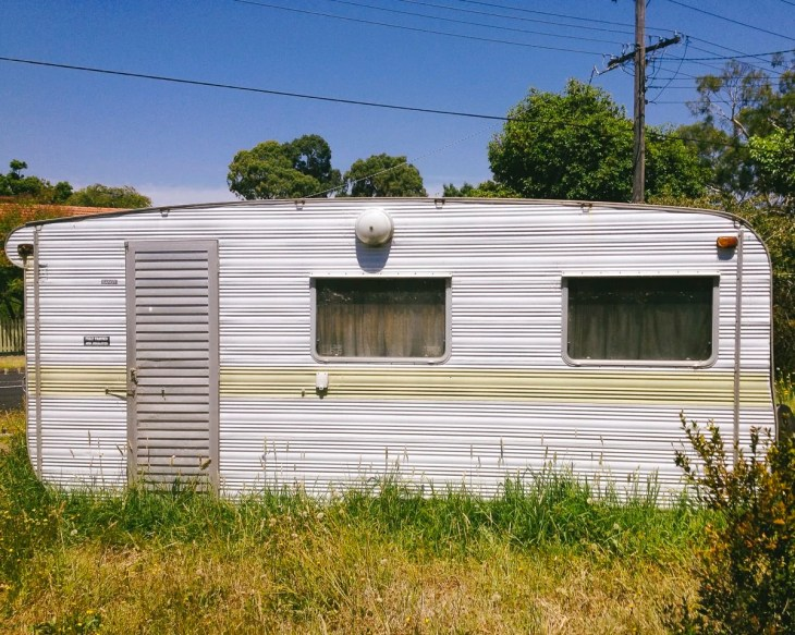 An old camper in Healesville, Australia