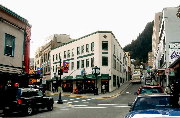 Downtown Juneau Alaska