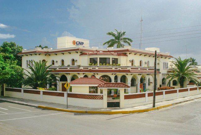 GNP office building architecture