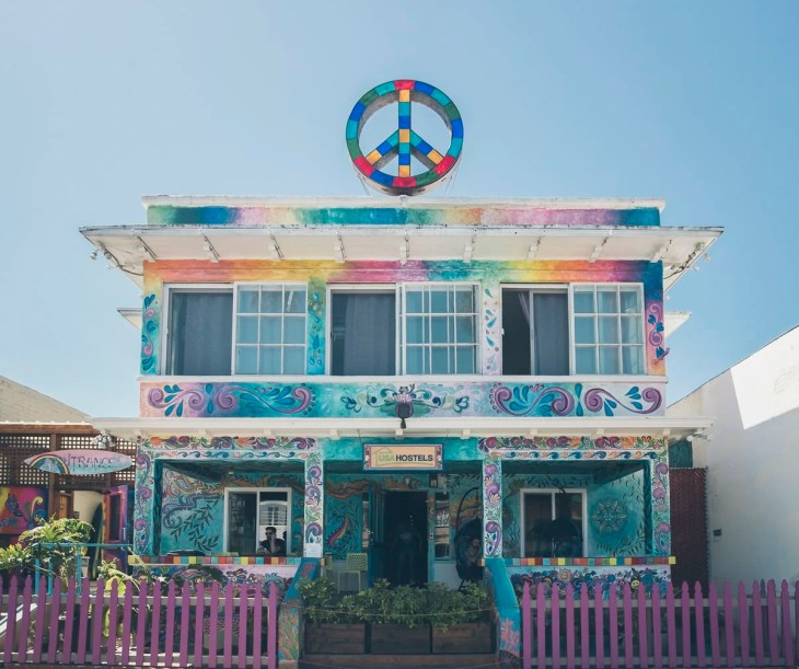 Peace Hostel at Ocean Beach, San Diego